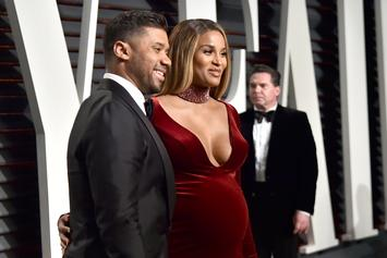 Ciara Posts Semi-Nude Maternity Photo With Russell Wilson & Baby Future