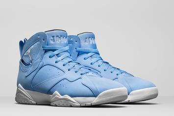 """University Blue"" Air Jordan 7s Will Be Available In Men's And Women's Sizes"