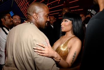 "Kanye West Was Almost On Nicki Minaj's ""Right Thru Me"""