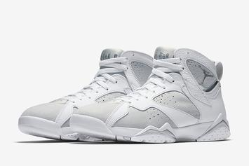 """Pure Platinum"" Air Jordan 7 Official Images, Release Date Confirmed"