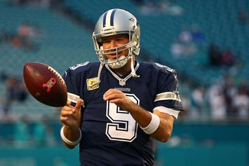 Tony Romo To Suit Up With Dallas Mavericks For Their Final Home Game