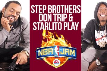 """Starlito & Don Trip School Us on NBA Jam, """"Step Brothers 3,"""" & More"""