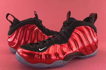"""The """"Metallic Red"""" Nike Foamposite One Is Making A Return Next Month"""