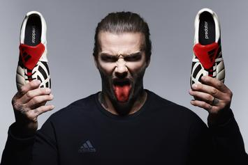 "Adidas And David Beckham Launch Limited Edition ""Champagne Pack"""