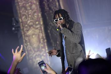 Wiz Khalifa's Son Bash Does Karaoke