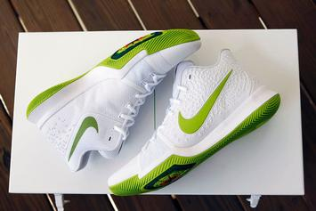 "Mountain Dew Unleashes Limited Edition Nike Kyrie 3 ""K.A.R.E Kit"""