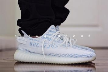 """""""Bue Zebra"""" Adidas Yeezy Boost 350 V2 Reportedly Releasing This Year"""