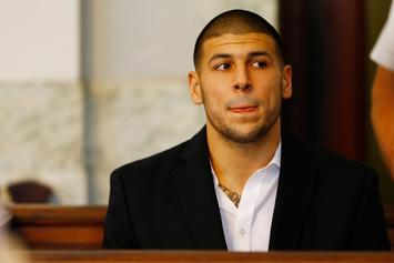 """Aaron Hernandez Requested New Cellmate Multiple Times, Referred To Him As """"My Heart"""""""