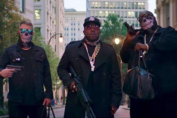 "Danger Mouse Feat. Run The Jewels, Big Boi ""Chase Me"" Video"