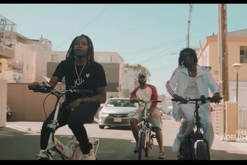 "Nef The Pharaoh Feat. OMB Peezy, Jay Ant ""Move4"" Video"