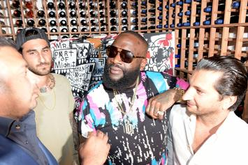 Rick Ross Flirts With Angela Yee, Gets His Beard Picked On The Breakfast Club