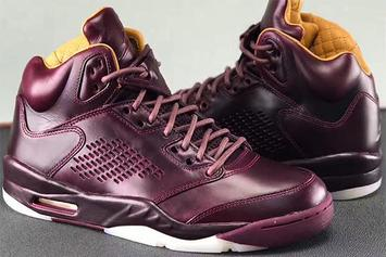 "Premium ""Wine"" Air Jordan 5 Rumored To Release This Year"