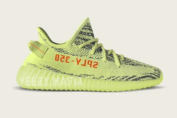 """Semi-Frozen Yellow"" Adidas Yeezy Boost 350 V2 Images Surface"
