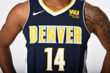 "Denver Nugets Unveil New ""Association"" And ""Icon"" Nike Uniforms"