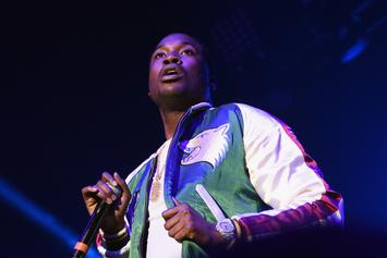 Meek Mill Shoots Multiple Airballs At Charity Game