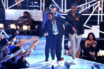 Kendrick Lamar Wins Video Of The Year at MTV Video Music Awards