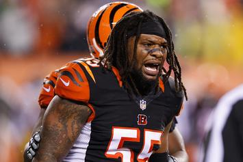 Bengals LB Vontaze Burfict Suspended 5 Games For Illegal Hit