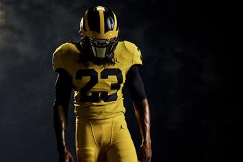 Michigan Wolverines Debut First Ever All-Maize Jordan Uniforms