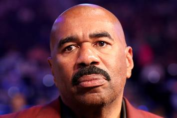 """Steve Harvey On Trump Meeting: I """"Should've Listened"""" To My Wife"""