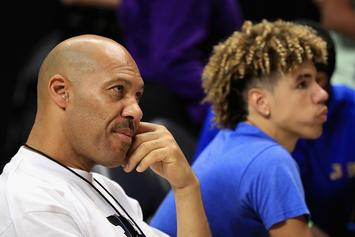 Big Baller Brand Accused Of Stealing LaMelo Logo From Yoga Studio