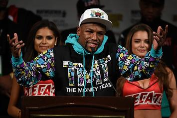 Floyd Mayweather Says He Hasn't Cashed Pacquiao, McGregor Checks