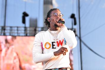 Watch Migos' Offset Bring His Daughter Back-To-School Shopping
