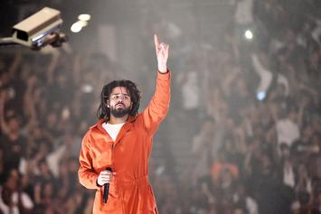 "Watch J. Cole Chant ""F*** Donald Trump"" At His Show In Denmark"