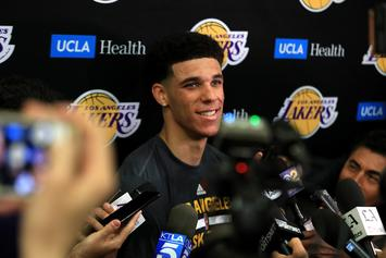 Lonzo Ball Reportedly Listens To Himself Rapping Before Lakers Games