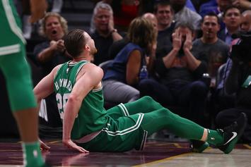 Gordon Hayward Suffers Gruesome Leg Injury In First Game With Boston Celtics