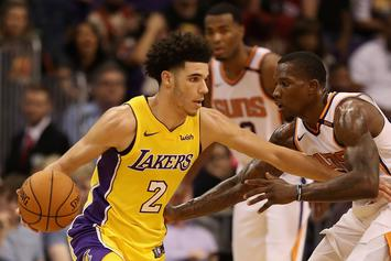 Lonzo Ball Bounces Back With Near Triple-Double In Win Against Phoenix Suns