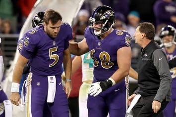 Miami Dolphins, Baltimore Ravens Players React To Brutal Hit On Joe Flacco