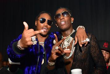 "First Week Numbers Are In For Future & Young Thug's ""Super Slimey"""