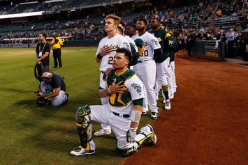 Athletics Catcher Bruce Maxwell Reportedly Pulled Gun On Delivery Woman