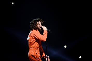 "J. Cole Says Colin Kaepernick Has The ""Biggest Balls"" In Sports"