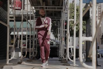 "Tory Lanez Reps Adidas And Champs Sports For New ""Maroon Pack"""