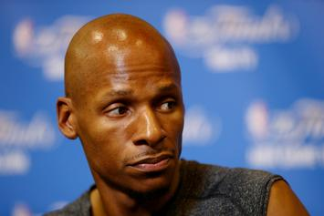 Ray Allen Says He's Victim Of Catfishing Scheme