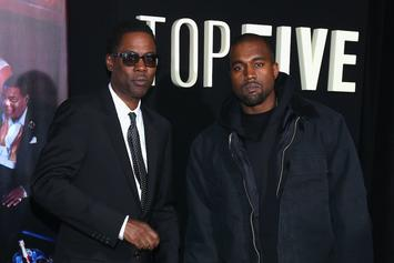 "Kanye West Hangs With Chris Rock & Eddie Murphy Backstage At ""Total Blackout"""