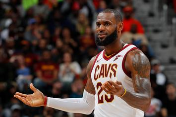 LeBron James Claps Back At Heckling Bulls Fan: Video