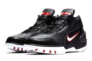 LeBron's First Nike Signature Shoe Returns This Month: Release Details
