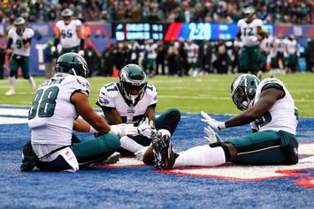 Philadelphia Eagles Clinch First Round Playoff Bye