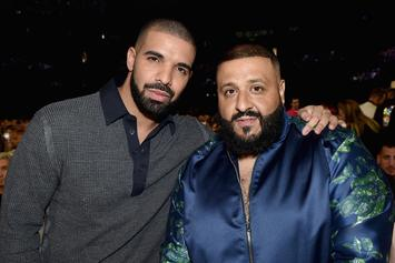 "Drake & DJ Khaled Do Their Best ""Salt Bae"" Impression"