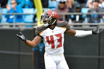 Tampa Bay Bucs' TJ Ward Arrested For Possession Of Marijuana