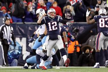 Tom Brady Leads Patriots To AFC Championship Game