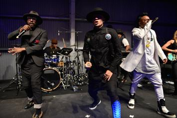 "The Black Eyed Peas Hit Up Stephen Colbert For ""Street Livin"" Performance"