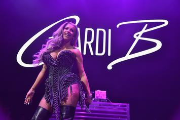 """Cardi B Gushes About """"Finesse"""" Remix Success, Thanks Fans For Their Support"""