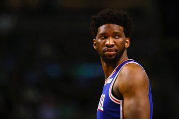"Joel Embiid Says He's Over Rihanna: ""On To The Next One"""