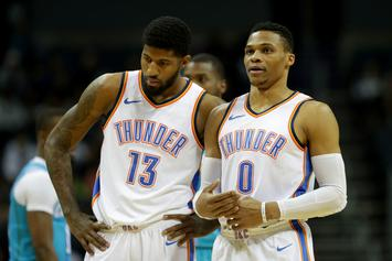 "Paul George: Westbrook Makes Free Agency Decision ""Easier To Make"""