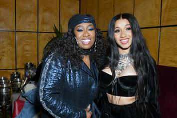 "Cardi B Is ""Hype"" After Meeting The Legendary Missy Elliott"