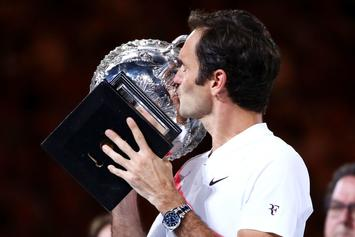 Roger Federer Becomes First To Win 20 Majors