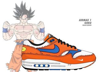 Artist Envisions A Nike x Dragon Ball Z Sneaker Collaboration